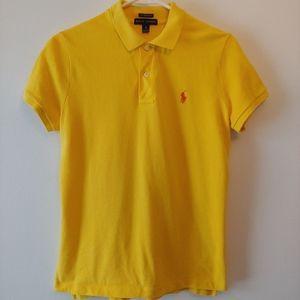 4/$25 Ralph Lauren Polo Yellow Golf T-Shirt